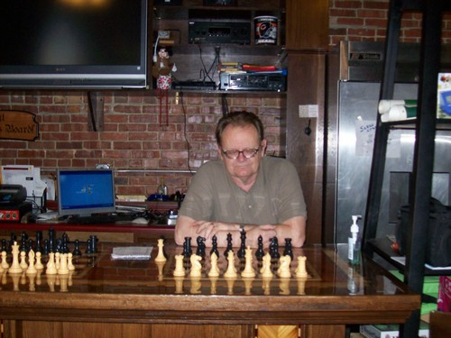Joseph Alford, Open Champion, begins considering his opening repetoire for next year's championship...