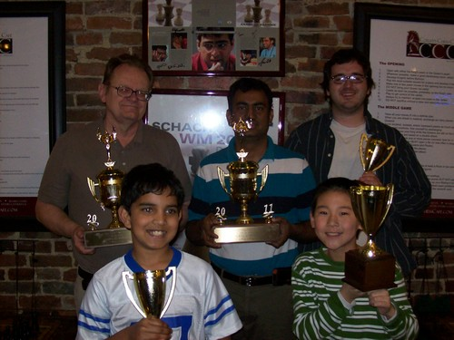 Champions with trophies 2011