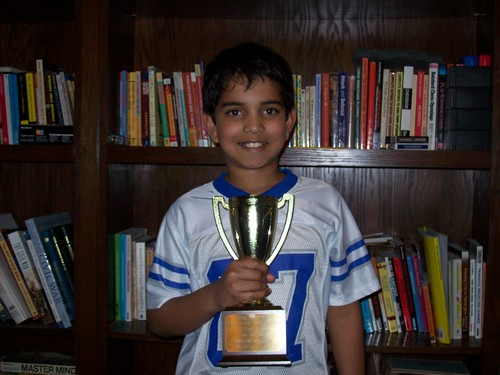 Nikhil Pallem, Under 1200-Unrated Co-Champion