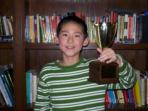 Hanson Hao, Scholastic Co-Champion