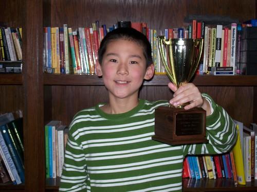Hanson Hao, Scholastic Co-Champion
