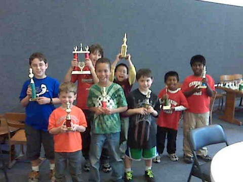 Under 1000 Section Trophy Winners (1 of 2)