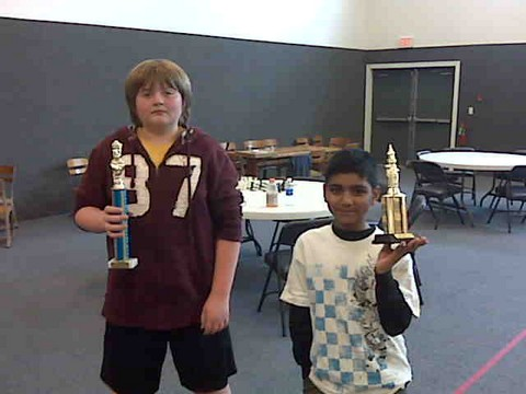 Open Section Trophy Winners (Not Pictured:  Shanku Nair)