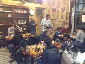 Players Compete in Round 1