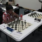 Prithiv Kumar, Round 1