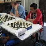Jason Chien (Right), Round 1