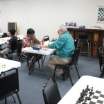 Prithiv Kumar and Dennis Bourgerie, Round 1