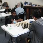 Ishaar Ganesan, Round 4 Board 1