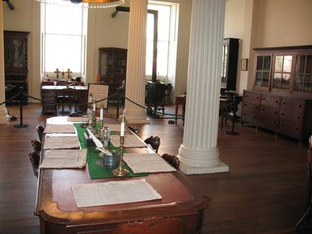 Library room of the Old Capitol